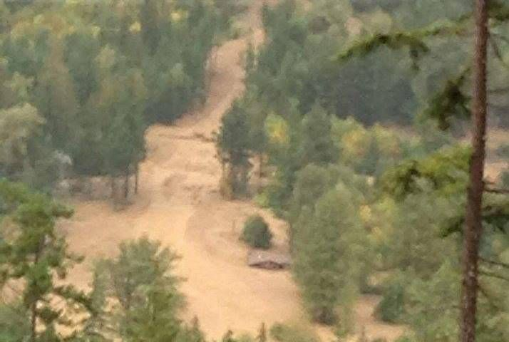 09/20/2015 - Mudslides northeast of Pemberton cause evacuation order; power outages