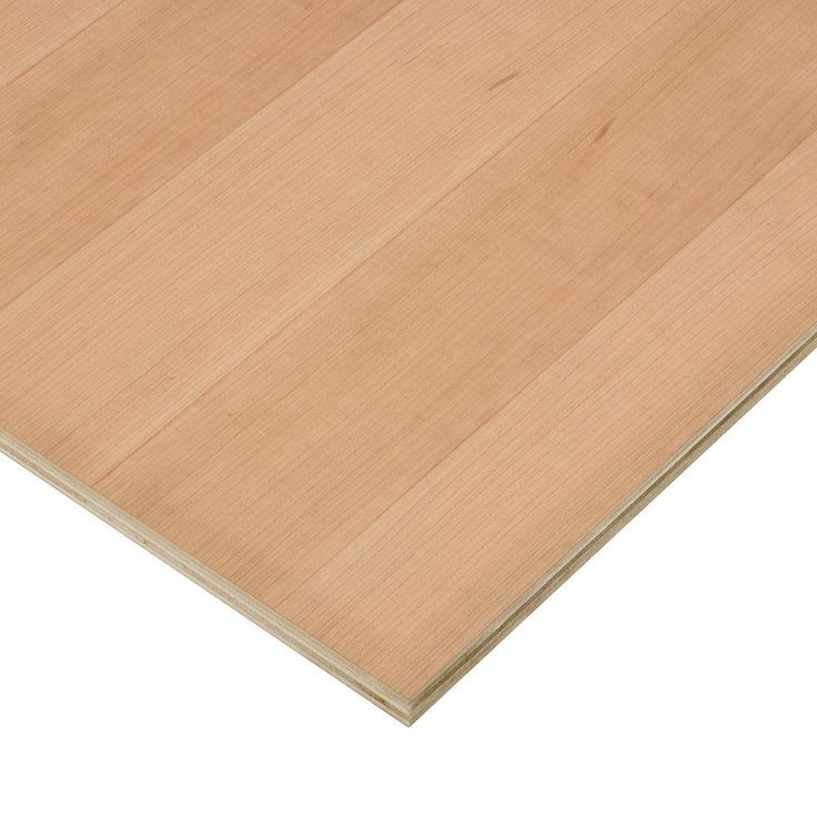 Columbia Forest Products 3/4 in. x 2 ft. x 8 ft. PureBond Cherry Plywood Project Panel - 2199 - The Home Depot