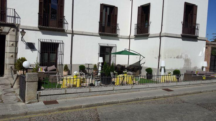 Terraza entrada al Palacio