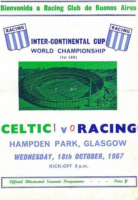 Celtic v Racing 1967   Flickr - Photo Sharing!