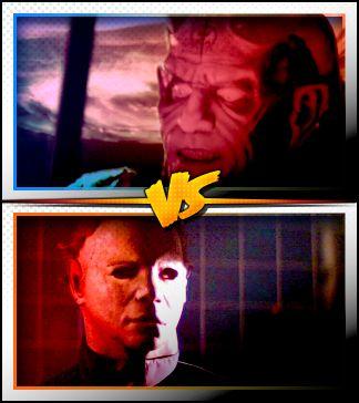 THE DJINN versus MICHAEL MYERS ■ http://terror.ca/movies/franchise/rank?f=291&f2=1793