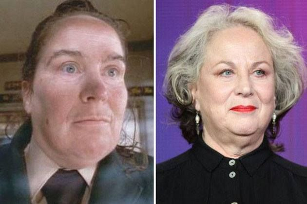 From Matilda...Miss Trunchbull -- Pam Ferris