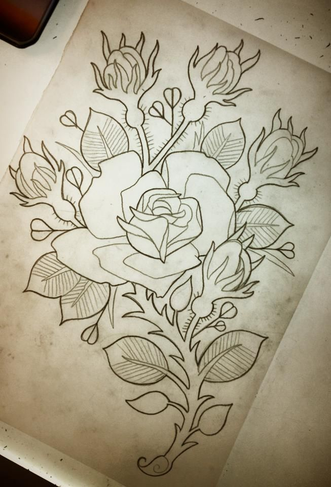 1000 ideas about rose outline on pinterest rose tattoos rose outline and rose tattoo forearm. Black Bedroom Furniture Sets. Home Design Ideas