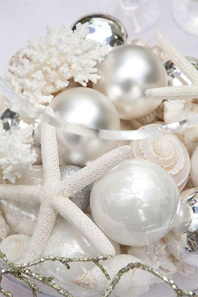120 best Coastal Christmas ~ Beach House Holidays images on Pinterest - coastal christmas decorations