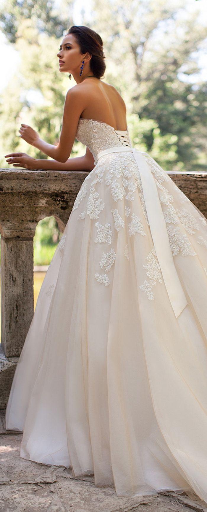 219 besten Brautkleid Bilder auf Pinterest   Hochzeitskleider ...
