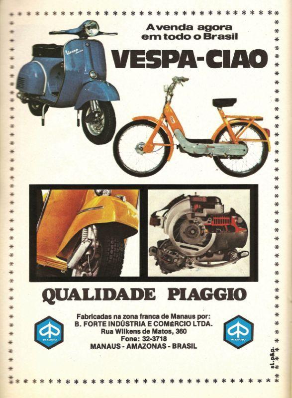 Vespa Ciao, Brasilien (??)