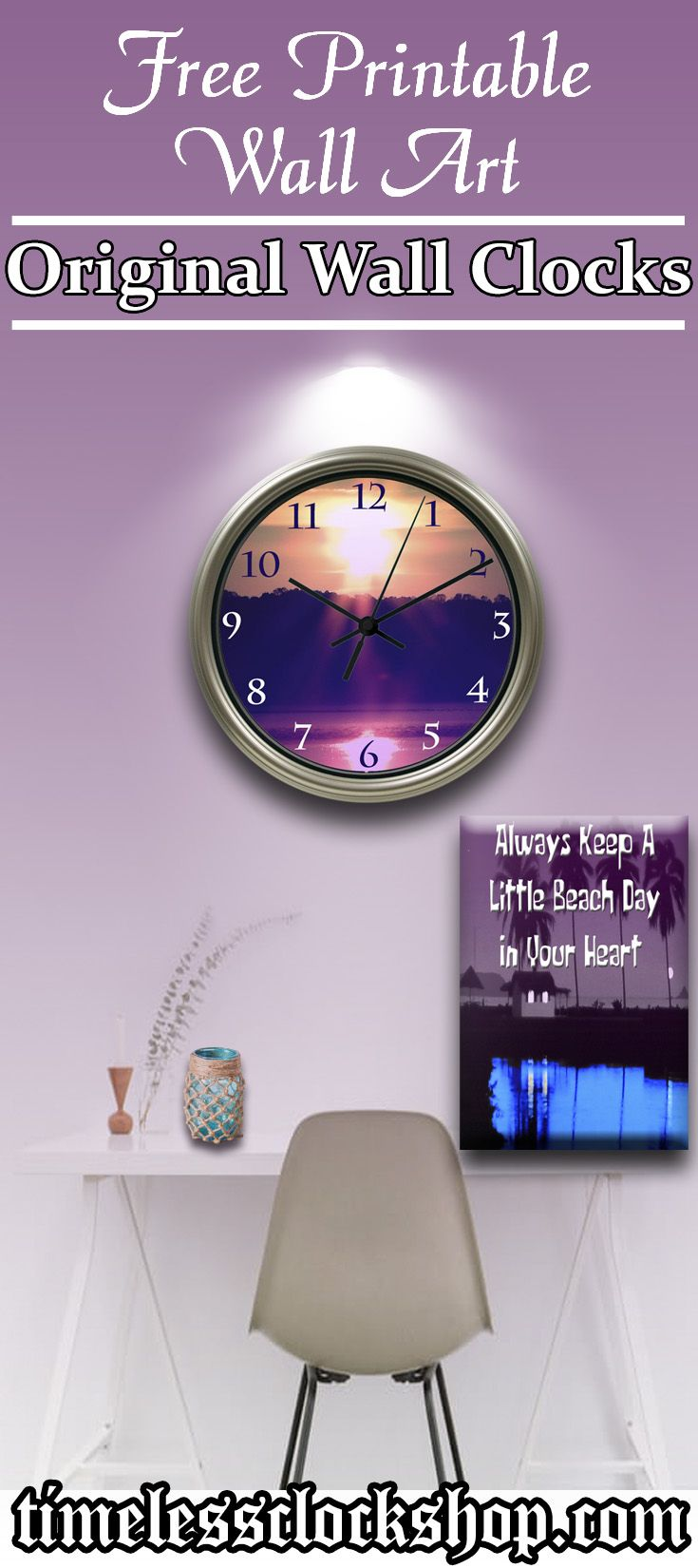 328 best diy custom clocks images on pinterest photo wall clocks create your very own original wall decor style with an inexpensive custom photo wall clock amipublicfo Gallery