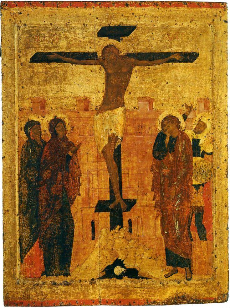 Праздничный чин Благовещенского собора. Прохор. Распятие