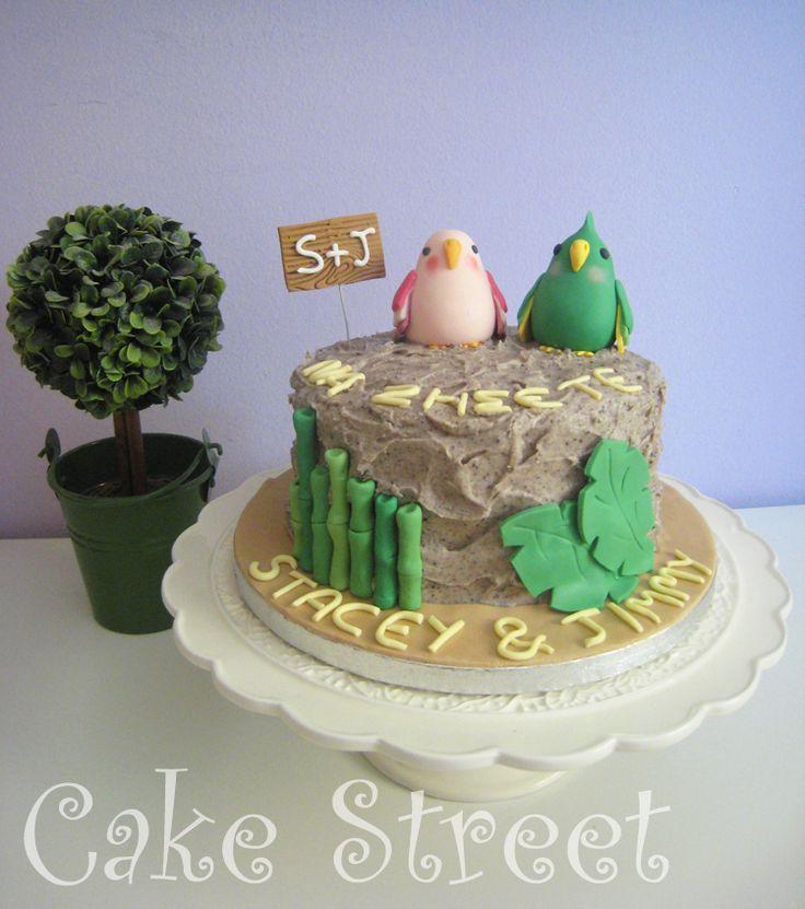 Parrot Anniversary Cake!