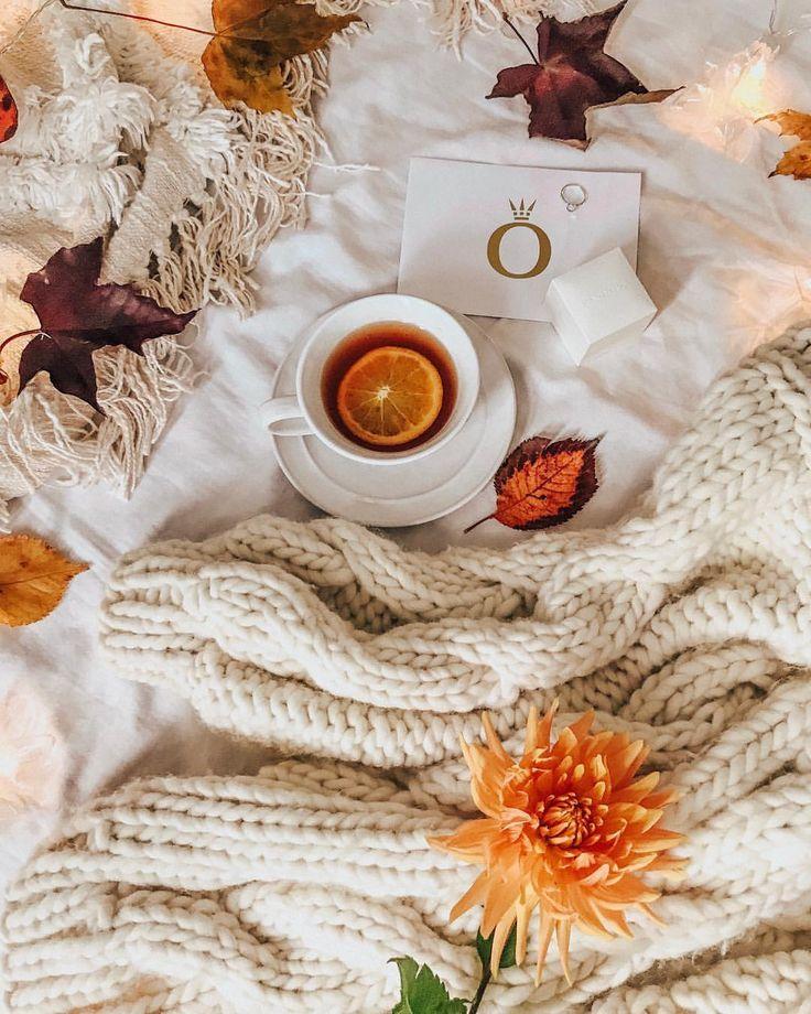вашим картинки осенний день одеяло кофе вперёд скажу