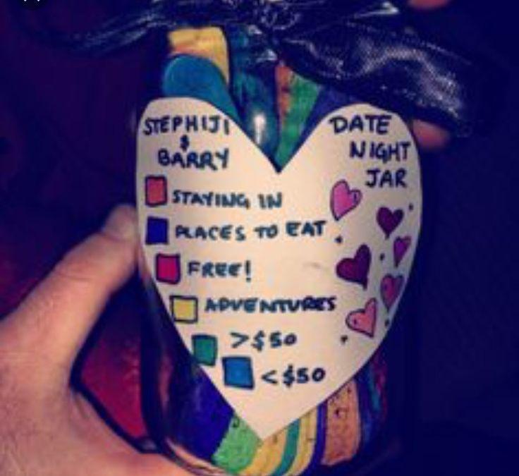 The 25+ best Date ideas jar ideas on Pinterest | Romantic date ...
