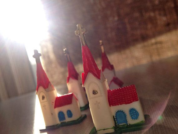 Miniature Christmas Decorations or Cake Toppers by WilliamChas