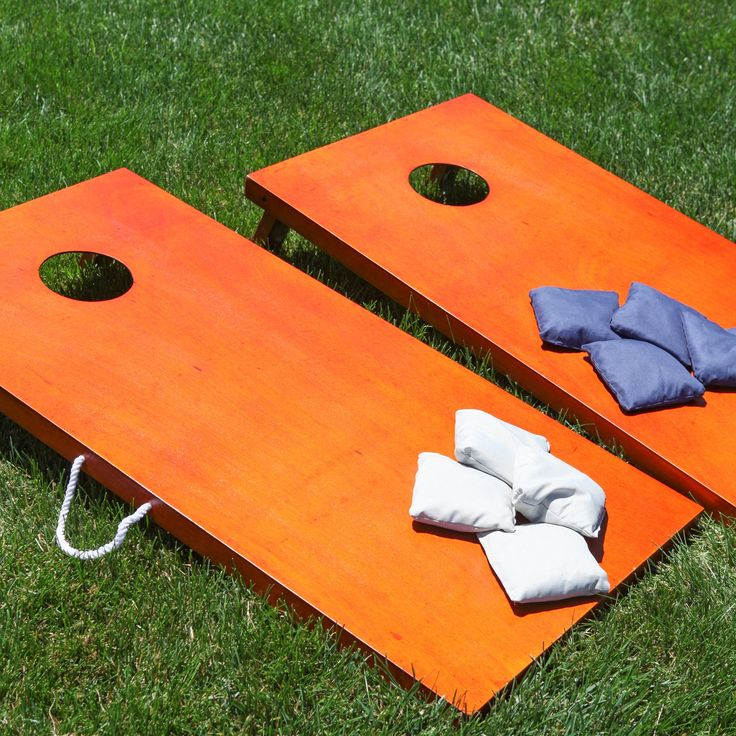 Field Club Stained Tournament Cornhole Set - Rosewood | from hayneedle.com