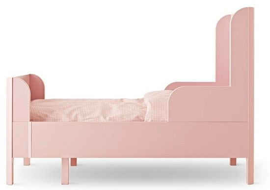 Perfect Pink Bed for a Little Girl or Toddler: www.kidsmopolitan.com