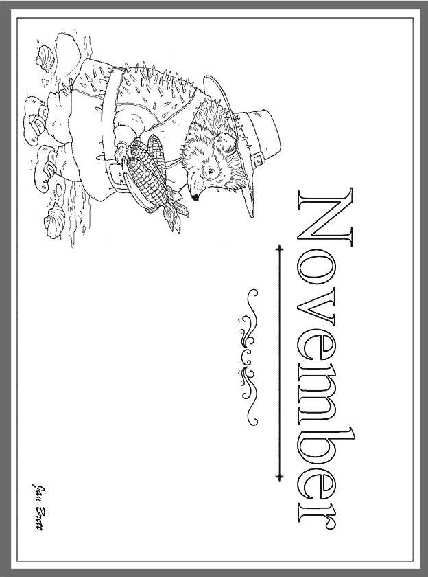 November http://janbrett.com/activities_pages_artwork.htm
