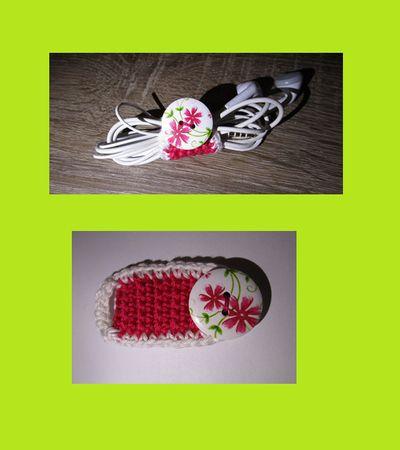Schluss mit Kabel Kaos bei Kopfhörer. Verwenden sie eine Kabelbinder. Jetzt können sie einfach einen selber machen :-) Dabei können sie ihre Kreativität aus toben lassen. Denn sie können den Kabelbinder in verschiedenen Farben häkeln. Anleitung einf