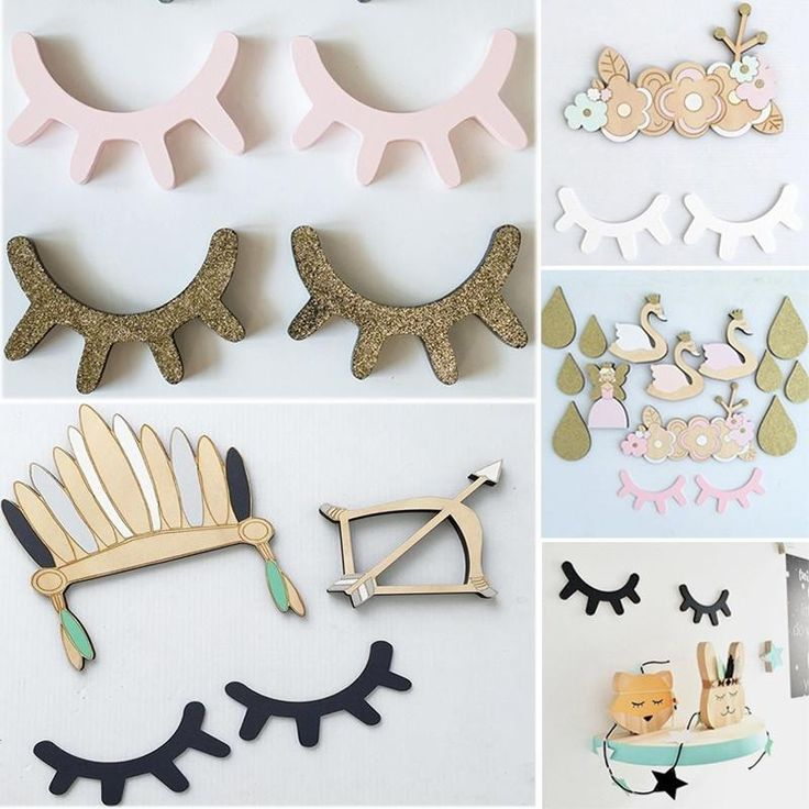 Specification: * Pattern:3D Sticker * Theme:Cartoon * Material:Wood;Wooden * Category:Wall stickers * Surface technology:Painting * Applicable scenarios:Home Furnishing * Size:15cm*11cm*0.6cm Package: 1 pair Eyelash Wall Decor Notice * Please allow 1-3cm error due to manual measurement and make sure you do not mind before ordering. * Please understand that colors may exist chromatic aberration as the different placement of pictures.