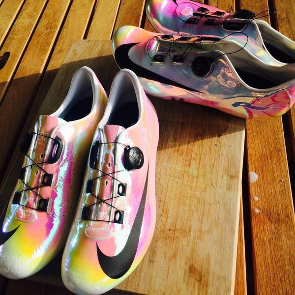 Nike Cycling Shoes | Custom for Adam Blythe