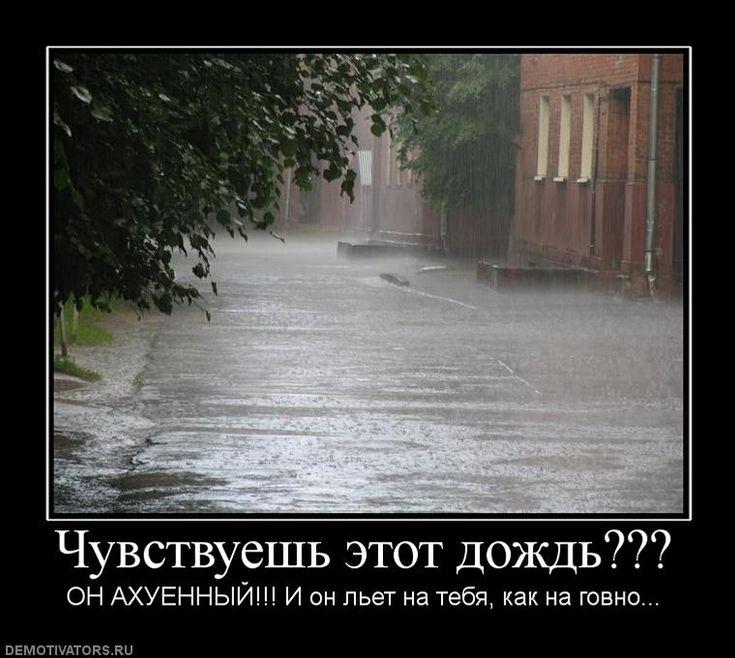 смешная картинка про дождь в декабре этого способа