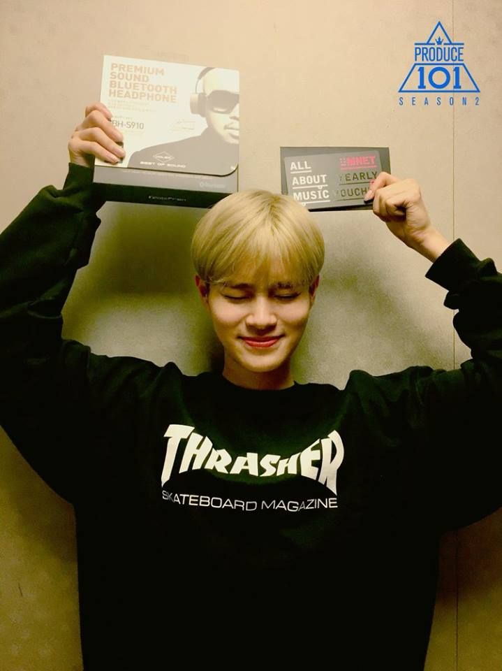Brand New Music  Brandnew boys Lee Daehwi 이대휘 Produce 101 Season 2
