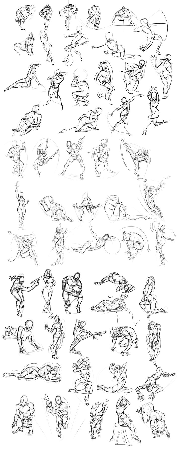 Figure Drawing 013 by Andantonius on deviantART via PinCG.com