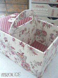 basket from cardboard - love it
