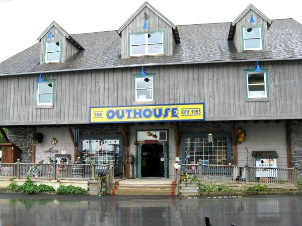 The Outhouse in Lancaster PA located at The Village Of Dutch Delights Ronks, PA