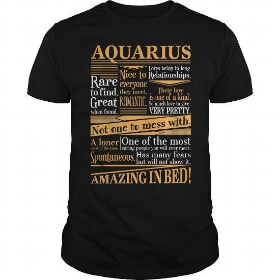 Amazing Aquarius #aquarius #gift #shirt #ideas #horoscopes #astrology # birthday
