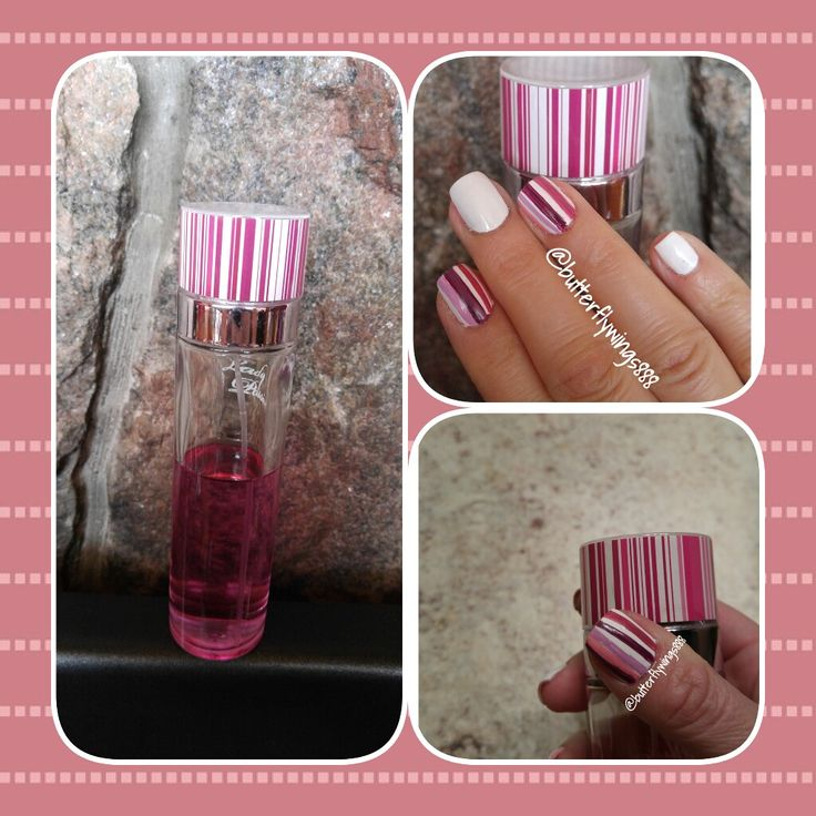 #Nail art #stripes# mix & match#white #hand painted