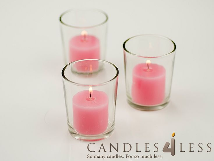 Clear Glass Votive Holders (288 pcs/Bulk )