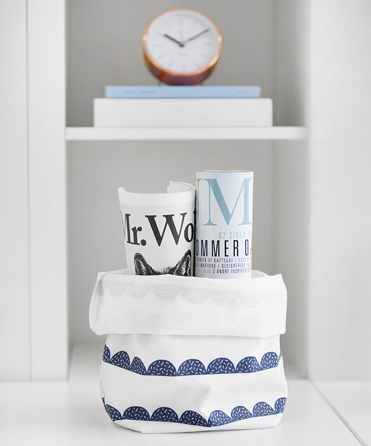 Discover 3 ways to use our gorgeous Swedish pinted Canvas / Paper Bags in your home.