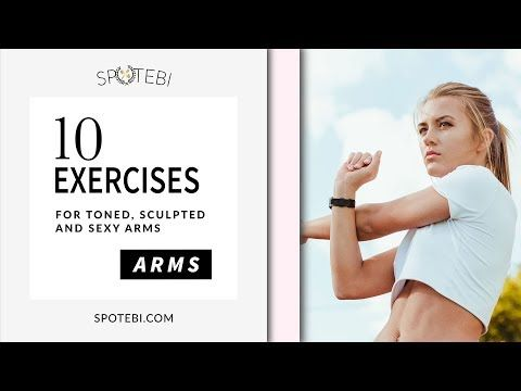 Sexy ARMS WORKOUT to Sculpt Lean, Long and Feminine Arms! - YouTube