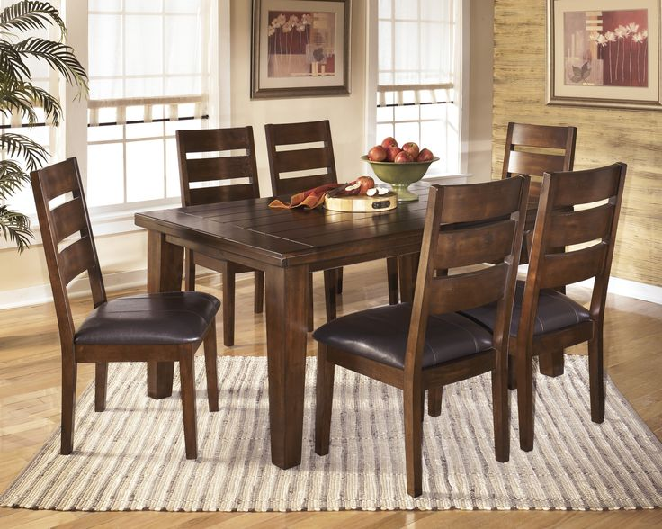 Larchmont 7pc Dining Room Table Set Outfit My Home