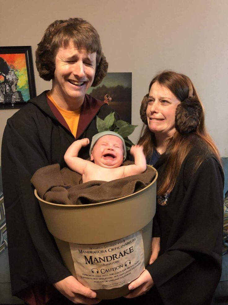 Clevere Baby-Halloween-Kostüm-Idee – #Baby #clever #cosplay #Costume #Halloween