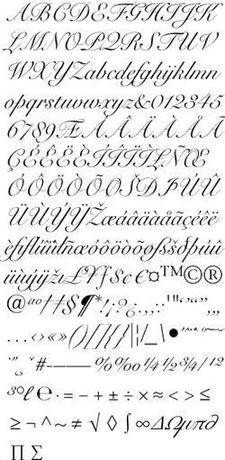Snell Roundhand Free Font