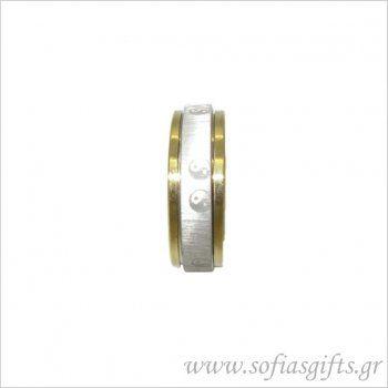 Antistress ανδρικό δαχτυλίδι με χαραγμένο γιν - γιαν - Είδη σπιτιού και χειροποίητες δημιουργίες | Σοφία #ανδρικα #δαχτυλιδια #κοσμηματα #andrika #daxtylidia #kosmhmata