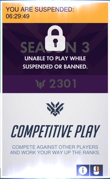 [Overwatch] The result of Blizzard's DDOS'd servers. So pissed right now http://ift.tt/2gVORyn