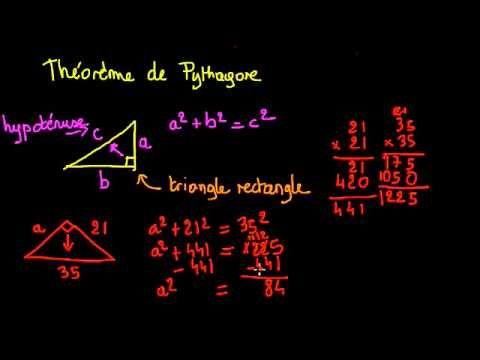 Introduction au théorème de Pythagore