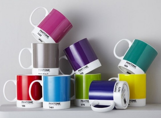 Pantone Coffee Mugs @ ROAM Minneapolis