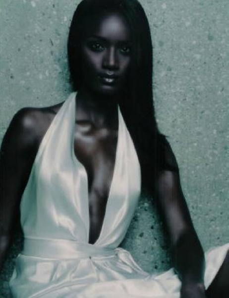 Deep dark skin