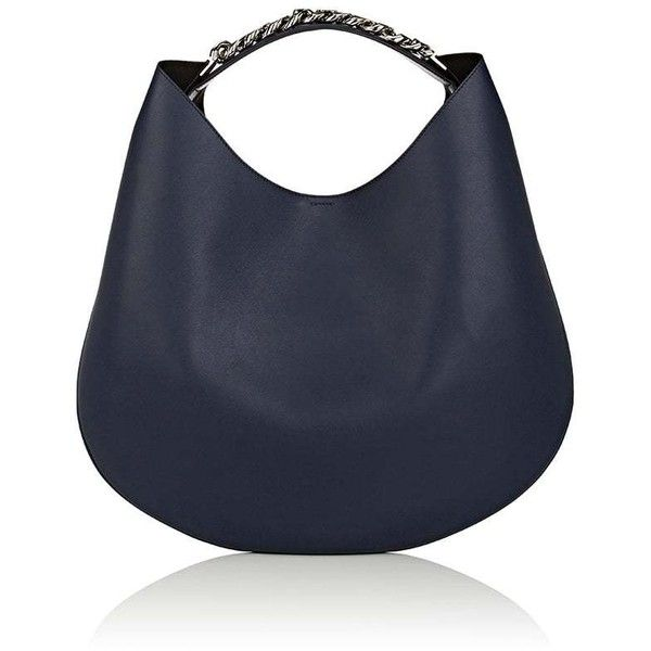 Givenchy Women's Infinity Medium Hobo Bag ($2,450) ❤ liked on Polyvore featuring bags, handbags, shoulder bags, navy, navy blue shoulder bag, navy purse, navy shoulder bag, oversized purses and givenchy handbags