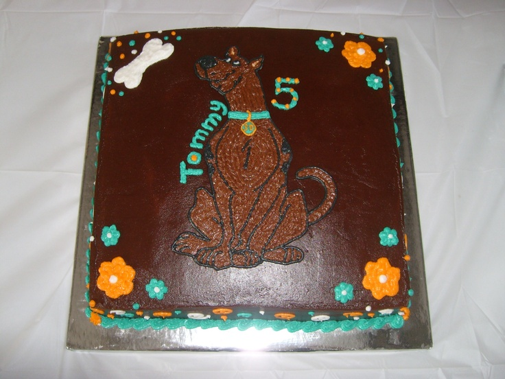 35 best cake designs by kyla images on pinterest cake for Scooby doo cake template