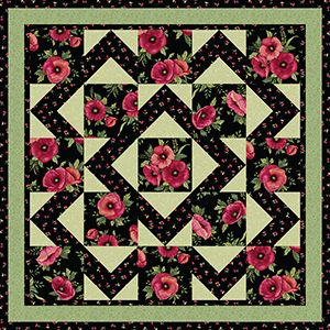 Walk About Quilt Pattern From Grizzly Gulch Patterns