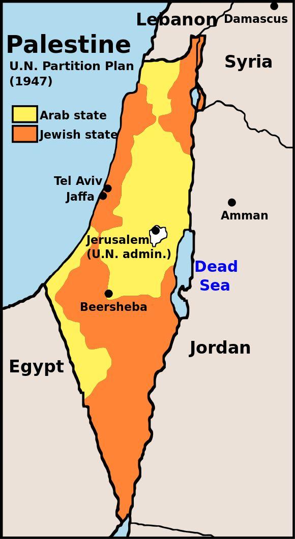 Źródło wojny Arabsko Żydowskiej