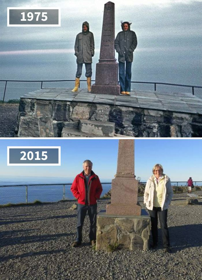 81 Before After Pics Showing How The World Has Changed Over Time By Re Photos Then And Now Pictures Hammerfest Tour Eiffel