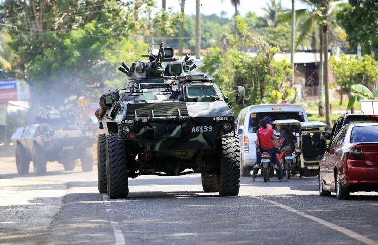#world #news  Philippine military seeks to secure troubled city as fighting eases