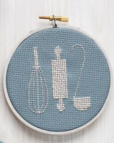 Learn+how+to+make+customizable+cross-stitch+projects+from+Martha+Stewart.