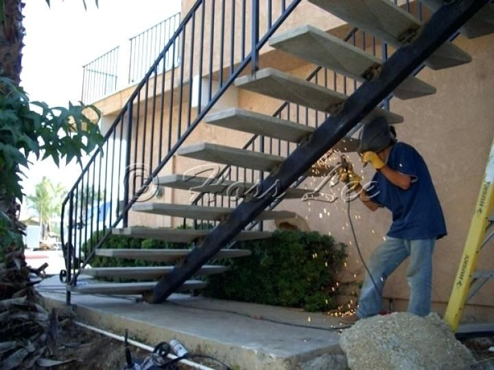 Pin By Charlie Welsh On Gnrc Design Ideas Exterior Stairs