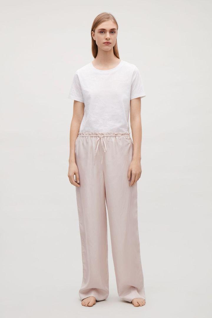 COS | Silk pyjama trousers