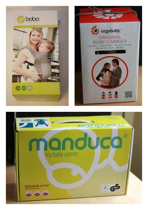 Cajas de la mochila Boba 4G, Manduca y Ergobaby Original
